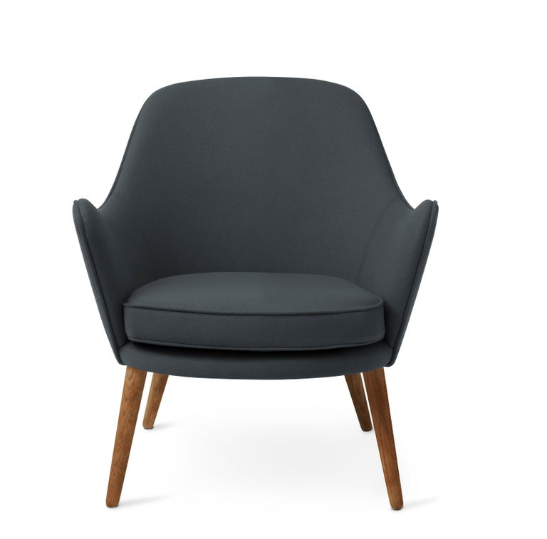 For Sale: Blue (Hero 991) Dwell Lounge Chair, by Hans Olsen from Warm Nordic