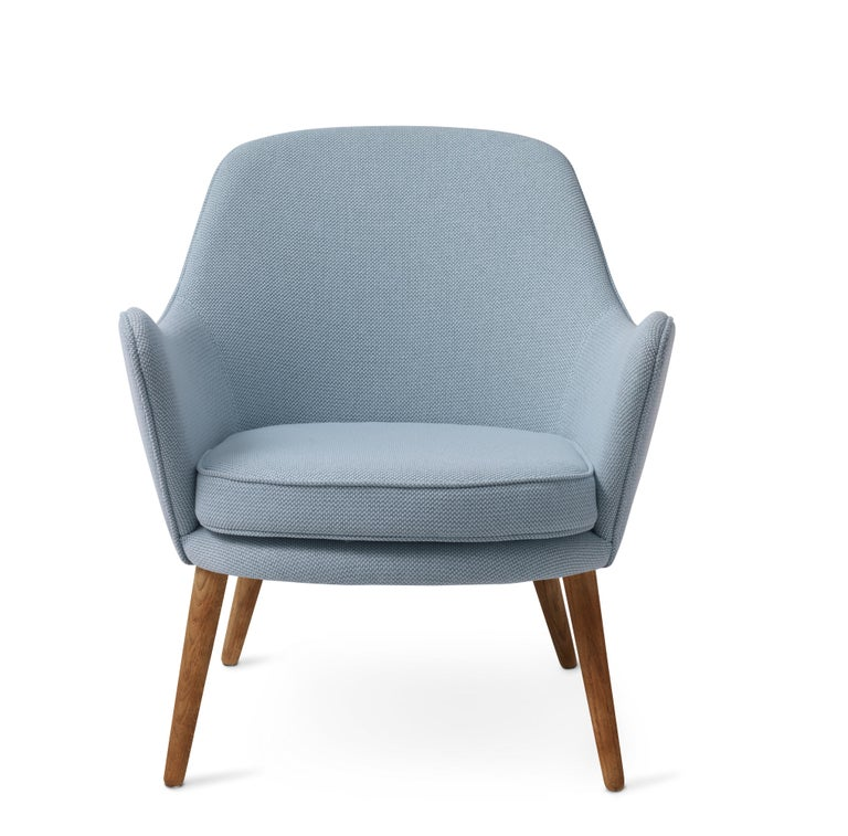 For Sale: Gray (Merit014/Merit014) Dwell Lounge Chair, by Hans Olsen from Warm Nordic