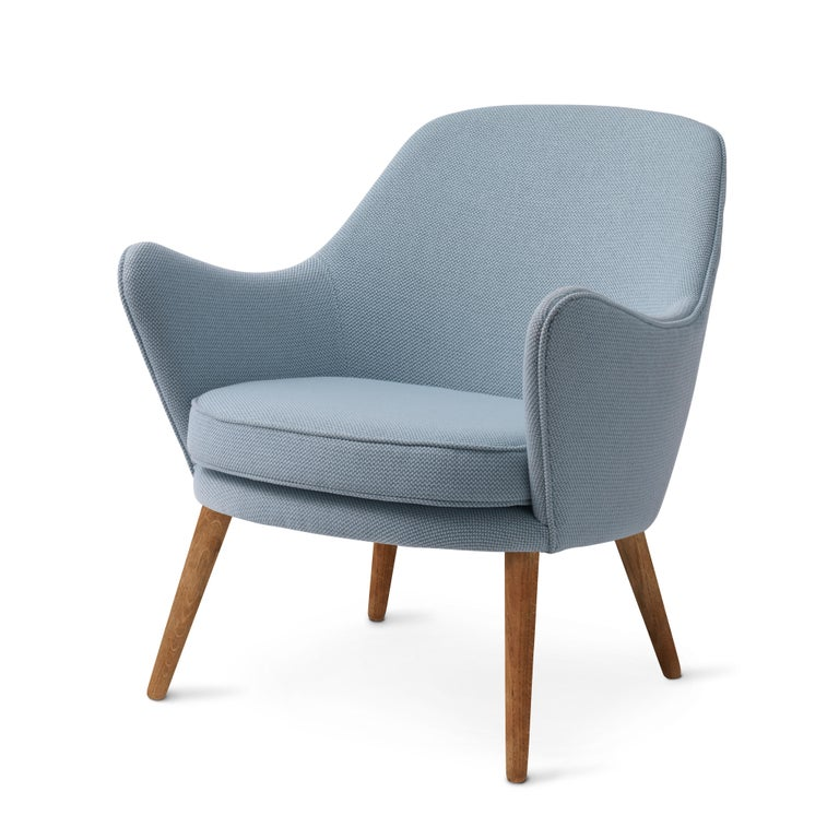 For Sale: Gray (Merit014/Merit014) Dwell Lounge Chair, by Hans Olsen from Warm Nordic 2