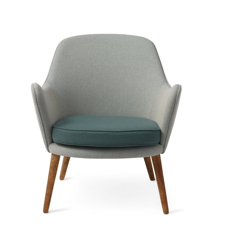 For Sale: Gray (Merit021/Merit017) Dwell Lounge Chair, by Hans Olsen from Warm Nordic