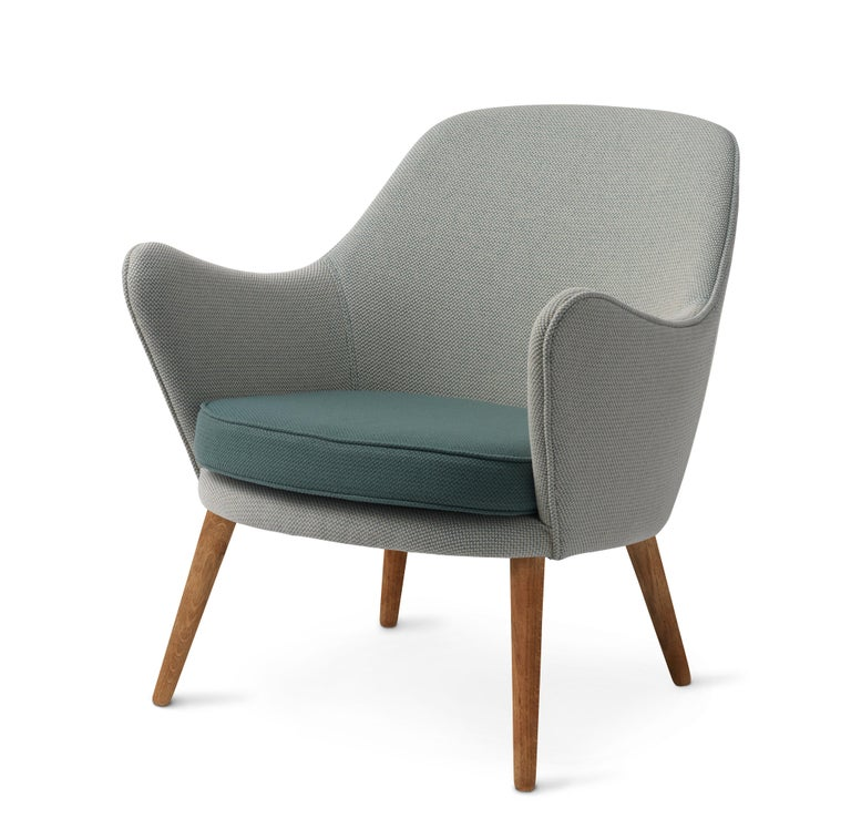 For Sale: Gray (Merit021/Merit017) Dwell Lounge Chair, by Hans Olsen from Warm Nordic 2