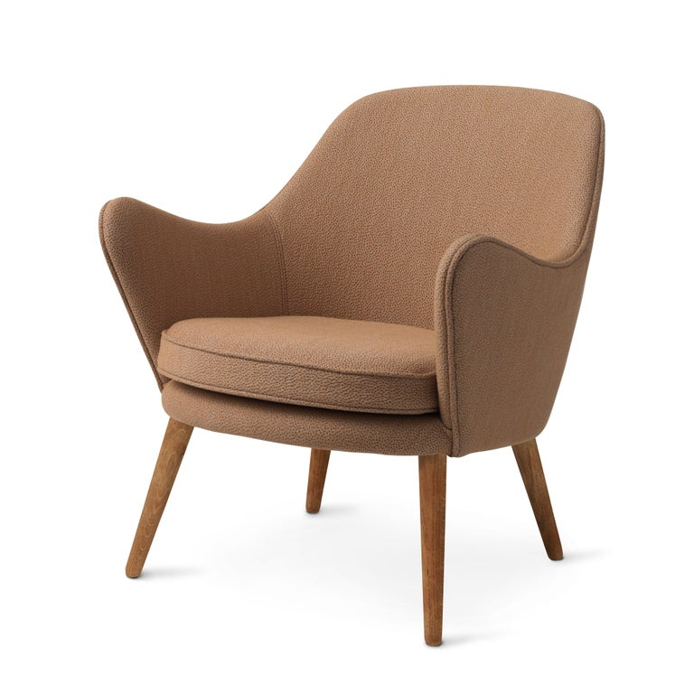 For Sale: Beige (Sprinkles 254) Dwell Lounge Chair, by Hans Olsen from Warm Nordic