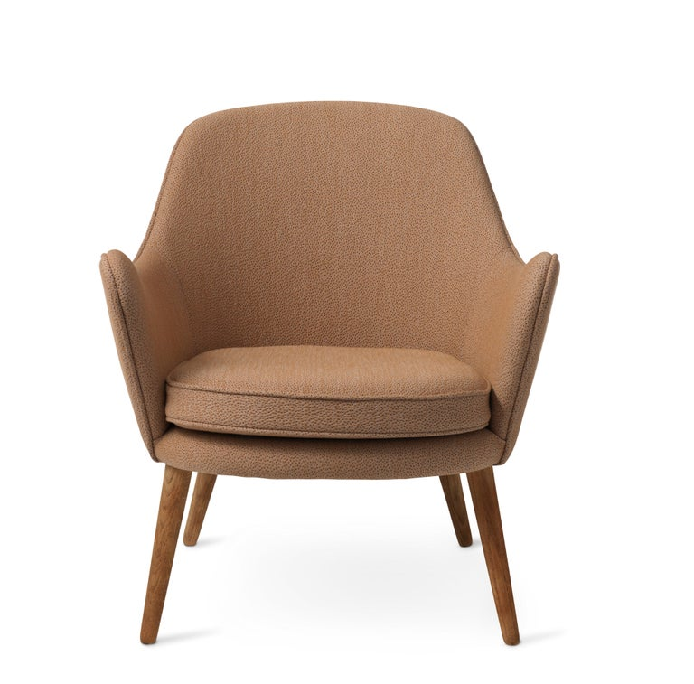 For Sale: Beige (Sprinkles 254) Dwell Lounge Chair, by Hans Olsen from Warm Nordic 2