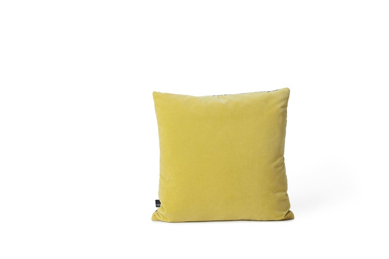 For Sale: Multi (Blue) Moodify Square Cushion, by Warm Nordic 2