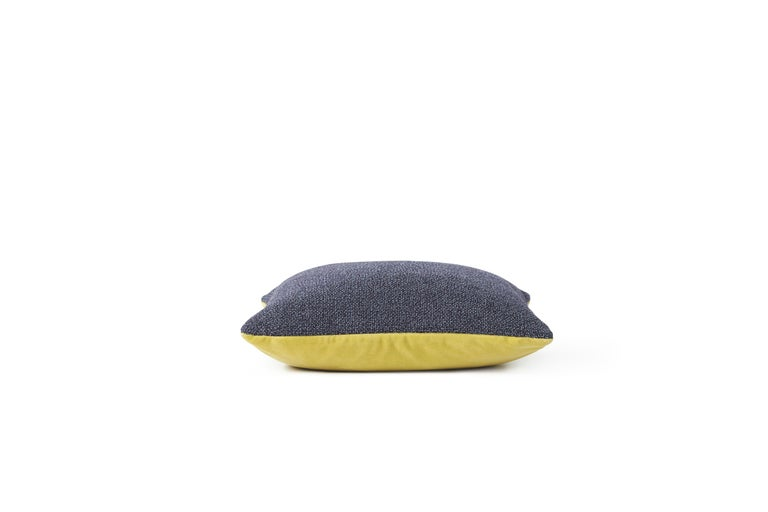 For Sale: Multi (Blue) Moodify Square Cushion, by Warm Nordic 3