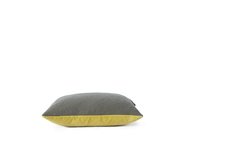 For Sale: Gray (Grey) Moodify Square Cushion, by Warm Nordic 3