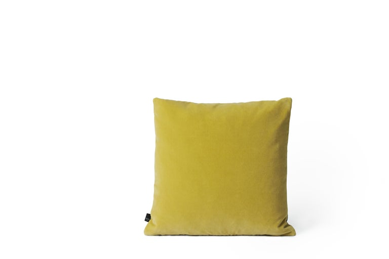 For Sale: Gray (Grey) Moodify Square Cushion, by Warm Nordic 2