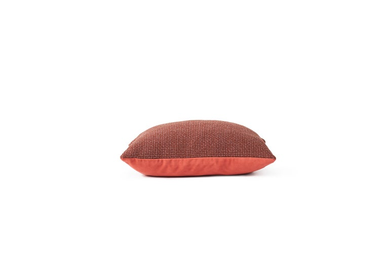 For Sale: Brown (Rusty) Moodify Square Cushion, by Warm Nordic 3