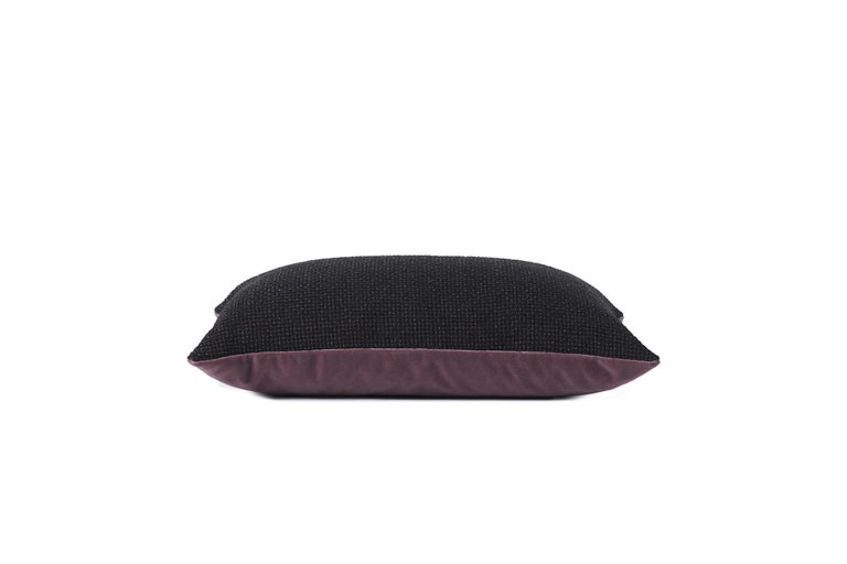 For Sale: Black Moodify Cushion, by Warm Nordic 3