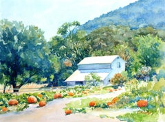 Valley Harvest Catherine McCargar Watercolor painting on paper