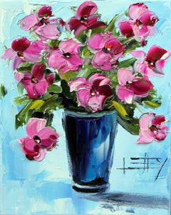 Love Me in the Springtime Lisa Elley Oil painting on stretched canvas