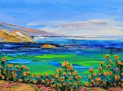 Monterey of Mine Lisa Elley Oil painting on stretched canvas