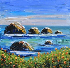 California Melody Lisa Elley Oil painting on stretched canvas