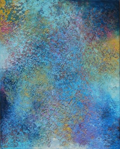 AL-U Janet Hamilton Oil painting on stretched canvas