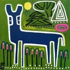 Indigo Deer