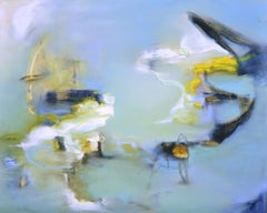 325 Somewhere Near Water, Painting, Oil on Canvas