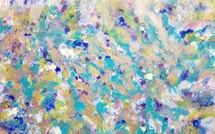 Poseidon's Garden No. 2, Large Abstract Painting, Painting, Acrylic on Canvas
