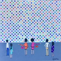 Damien Hirst's Museum, Painting, Acrylic on Canvas