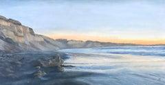 Glass Surf Anastasia Pimentel Oil painting on wood
