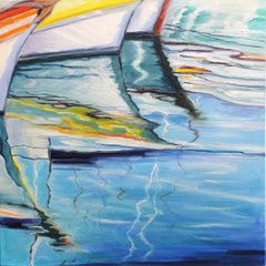 Regata  Andres Lopez Oil painting on stretched canvas