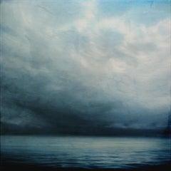 Clouds of Coeur d'Alene Brian Sostrom, Acrylic painting on acrylic paint on plex
