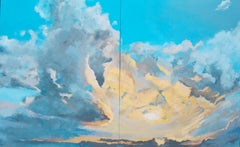 Sky Candy Benjamin Thomas Acrylic painting on stretched canvas