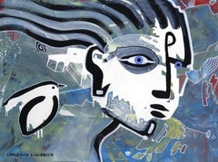 Dream 31 Cameron Limbrick,Acrylic painting on paper