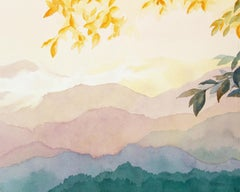 Smoky Mountain Layers Bill Kreitlow, Watercolor painting on paper