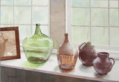The Green Jug Bill Kreitlow, Watercolor painting on paper