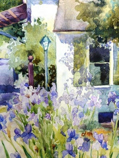 French Laundry Catherine McCargar, Watercolor painting on paper