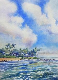 Kauai Catherine McCargar, Watercolor painting on paper