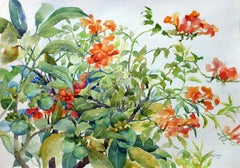 The Fruit and the Vine Catherine McCargar, Watercolor painting on paper