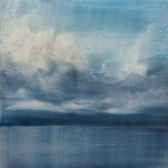 Broken Sky 2 Brian Sostrom, Acrylic painting on plexiglass mounted