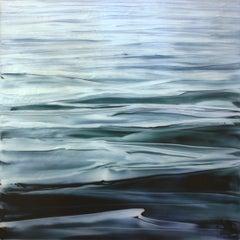 Shimmer Brian Sostrom, Acrylic painting on acrylic paint on plexiglass