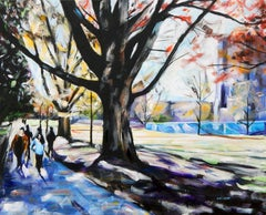 West Campus Chris Wagner, Acrylic painting on stretched canvas