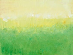 Spring Green Sunshine, Painting, Acrylic on Canvas