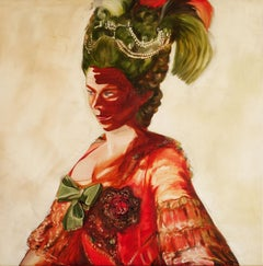 Madam Green, Painting, Oil on Canvas