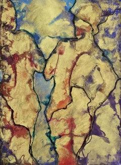 Deliquescence XXVII, Painting, Pastels on Paper