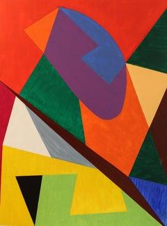 RICARDO, Painting, Acrylic on MDF Panel