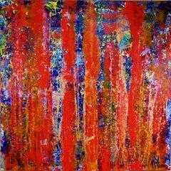 Infinity Stream, Painting, Acrylic on Canvas