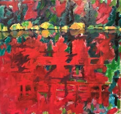 Pumphouse 2, Painting, Oil on Canvas