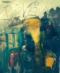 SPEAKER, Painting, Oil on Canvas