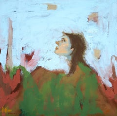 In the Garden III, Painting, Oil on Canvas