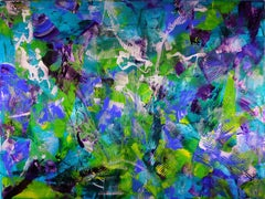 Tourmalines, Painting, Acrylic on Canvas