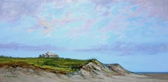 Cliff Home, Painting, Oil on Canvas