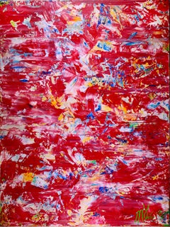 consequences of red, Painting, Acrylic on Canvas