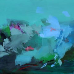 Beginning afresh, Painting, Acrylic on Canvas