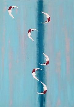 Sentiero, Painting, Acrylic on Canvas
