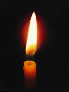 Candle, Painting, Oil on Canvas