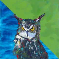Wise Beyond His Years, Painting, Acrylic on Canvas